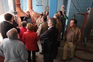 Freie Wähler Elsendorf Brauereibesichtigung in Horneck