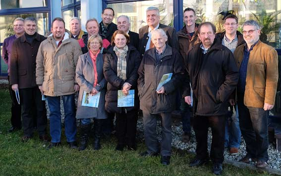 Die Mitglieder der Freien Wähler aus Mainburg, Elsendorf und Volkenschwand haben sich einen Überblick über die Trinkwasserversorgung der Hallertau gemacht