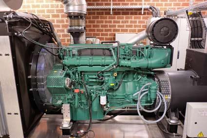 Kein Strom, kein Problem der Wasserzweckverband hat auch für Stromausfälle mit Dieselgeneratoren gut vorgesorgt.