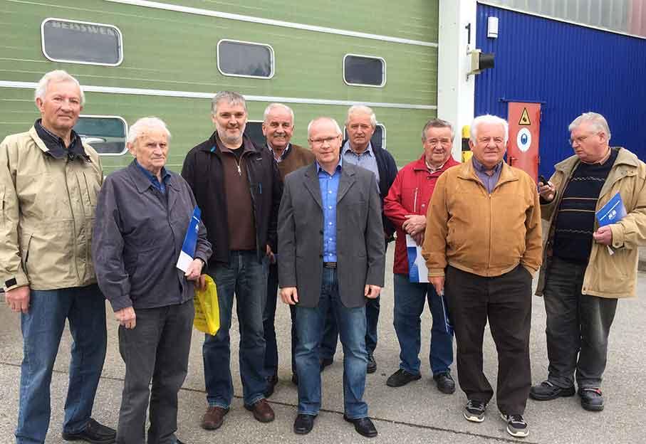 Freie Wähler Elsendorf bei Heine und Beisswenger
